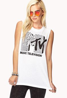 MTV© Muscle Tee | FOREVER21 - 2000051157
