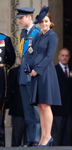 Prince William, Duke of Cambridge and Catherine, Duchess of Cambridge attend a Service of Commemoration to mark the end of combat operations in Afghanistan at St Paul's Cathedral on March 13, 2015 in London.