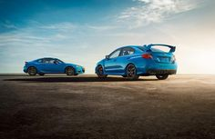 2016 Subaru WRX STI and BRZ Series.Hyperblue coming this fall. For more information, check out http://subar.us/1CJiBkU
