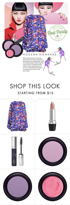 """""""REAL PURITY PURPLE"""" by gizaboudib on Polyvore featuring Belleza, Emilio Pucci, Real Purity, Sophia Webster y REALPURITY"""