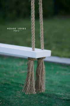 Huśtawka Ogrodowa (Nie Tylko dla Dziecka) - DIY - Backyard Swings, Backyard For Kids, Garden Swing Seat, Fire Pit Patio, Dream Rooms, Outdoor Fun, 40th Birthday, Diy And Crafts, Pergola