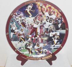 "2002 Washington Redskins ""Darrell Green"" Collectors plate"