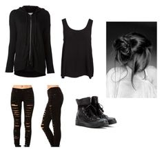 """""""heheh x2"""" by sexysomerhalder ❤ liked on Polyvore featuring Splendid, Vero Moda and Converse"""