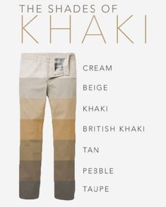 Men Khaki Pants Outfits- 30 Ideal Ways to Style Khaki Pants different shades of khaki pants for men Kaki Pants, Women's Pants, Trousers, Khaki Pants Outfit, British Khaki, Revival Clothing, Jean Straight, Outfit Trends, Mens Essentials