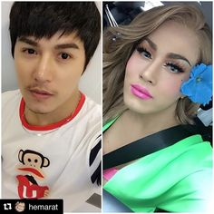 with ・・・ Makeover 👦➡️➡️👩 Transgender Before And After, Male To Female Transgender, Mtf Transition, Gorgeous Women, Beautiful, Makeup Transformation, Gay Pride, Men And Women, Crossdressers