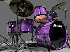 Drumset Sonor Designer Series Model available on Turbo Squid, the world's leading provider of digital models for visualization, films, television, and games. Dj Music, Music Stuff, Indie Music, Soul Music, Drums Girl, Instruments, Lavender Aesthetic, Vintage Drums, Heavy Metal