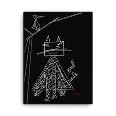 #kunst #modedesign #design #sommer #tshirts #unikat #unikate #specialone❤️ #claruss #love #instagood #happy #nature #beatiful #schoen #you #me #like #fun #cat #katze #art #white #weiss Cat, Happy, Nature, Design, Artworks, Canvas, Naturaleza, Cat Breeds
