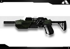 Concept Art de fusil