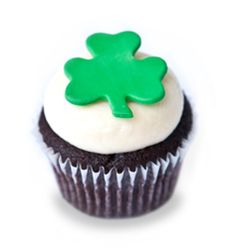 Kara's Cupcakes - chocolate cupcake with a Bailey's Irish vanilla buttercream frostin