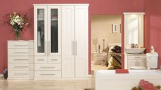 Shaker Fitted Bedrooms in Ivory
