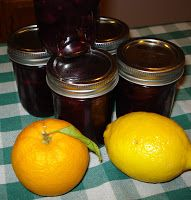 Citrus and Blueberries...It's what's in season! ~ Canning Homemade!