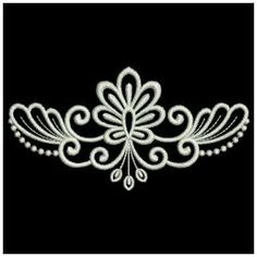 Rangoli Designs Flower, Rangoli Border Designs, Small Rangoli Design, Colorful Rangoli Designs, Rangoli Designs Images, Flower Embroidery Designs, Machine Embroidery Designs, Alpona Design, Lace Weddings