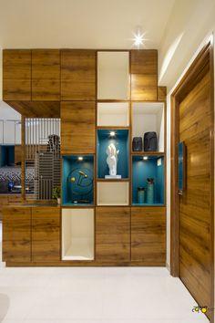 Niche Design, Foyer Design, Home Room Design, Home Interior Design, Living Room Designs, Interior Decorating, House Design, Wall Design, Interior Designing