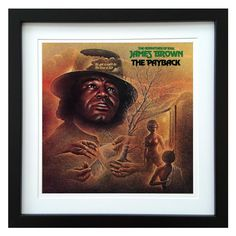 James Brown | The Payback Album | ArtRockStore