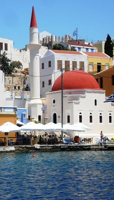 Kastelorizo Island, Dodecanese), Greece Been here for a day and loved it. If you go make sure to take a boat to the blue sea cave! Santorini, Mykonos, Wonderful Places, Great Places, Beautiful Places, Oh The Places You'll Go, Places To Travel, Places To Visit, Albania