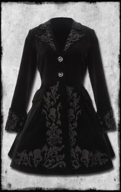 HELL BUNNY VICTORIAN COAT by ZombieGirl