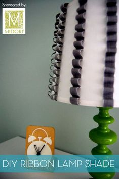 Ruffled lamp shade.  Very interchangeable and you can get new shades from thrift stores for a few bucks.