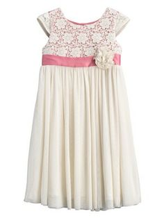 Crochet/Tulle Bridesmaid Dress, http://www.littlewoods.com/ladybird-crochettulle-bridesmaid-dress/1333571706.prd