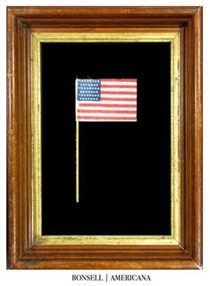 45 Star Antique Parade Flag with Staggered Star Pattern | Circa 1896-1907