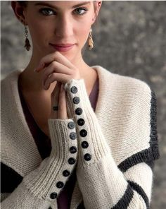 Knit. Nice sleeves