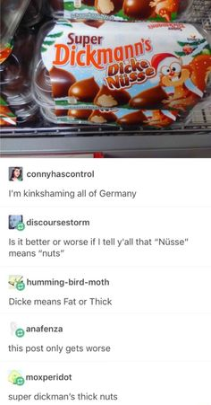 Oh boi. The german. That language is ultimate XD (been leaening it for 10 years and I can barely understand it*