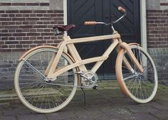 Wooden retro Bicycle - Hey Joanie reckon we could get Poppy to make us one?
