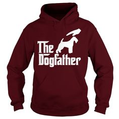 The DogFather #Lakeland #Terrier, Order HERE ==> https://www.sunfrog.com/Pets/The-DogFather-Lakeland-Terrier-Maroon-Hoodie.html?6789, Please tag & share with your friends who would love it, #renegadelife #christmasgifts #superbowl   #posters #kids #parenting #men #outdoors #photography #products #quotes