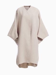 Double Face Coat • HANA ZARUBOVA Bell Sleeves, Bell Sleeve Top, Hana, Spring Summer, Coat, Women, Fashion, Moda, Fashion Styles