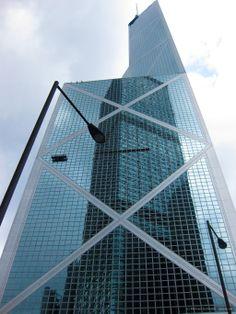 Hong Kong Bank of China #hongkong #china #skyscraper