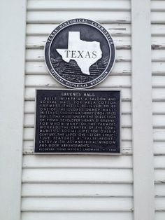 Gruene's Hall-  Gruene, Texas