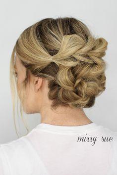 pull-through-bun-hair