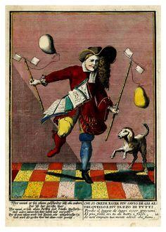 The Fool. 021-Proverbii verificati per l'esperienza cotidiana…1718--Giuseppe Maria Mitelli