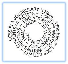 Voc or spelling activity