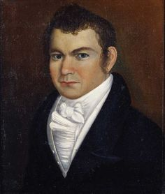 Joseph Churchill, Attributed to Thomas Ware, Woodstock, Vermont, 1822-1823.
