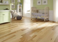 Hickory greatly separates itself from other wood species by its great color variation, which begins from light tan to reddish/ dark brown tones with dramatic grain patterns.