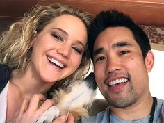 The London-based fitness guru first worked with the Jennifer Lawrence in 2010 when he trained her for X:Men: First Class and she continues to abide by his health tips today.