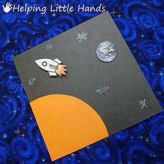 astronaut party invitations - 800×800