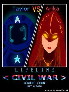 Lifeline Fan Art via Twitter (@LifelineGame) - Credit: @AesopYOLIAN