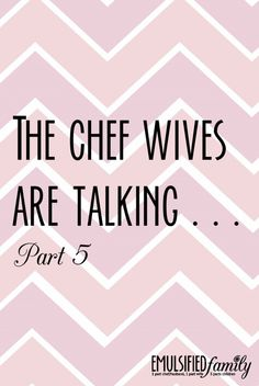 25 Facts about Dating a Chef. So true!