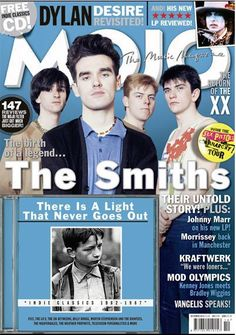 Mojo's cover features features the punk group The Smiths