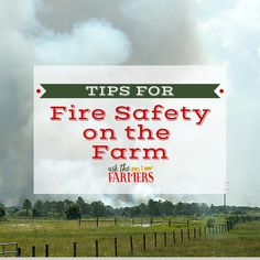 Living on the farm, especially during dry weather that often accompanies harvest, we have to be very mindful of fire safety; though fires are a risk year round. Barn fires which result in loss of buildings and livestock can be emotionally and financially devastating to farmers, and each year in Canada alone there are approximately …