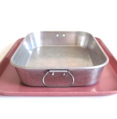 Aluminum Lasagna Pan Side Handles Wearever 2612 by LaurasLastDitch, $24.99