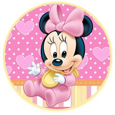 bonobon candy bar minnie bebe kit imprimible Minnie Mouse Party Decorations, Mouse Parties, Minnie Mouse Stickers, Disney Kunst, Retro Disney, Baby Disney Characters, Theme Mickey, Disney Babys, Mickey Mouse Wallpaper