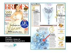 brides-uk-march-april-14 Oia Jules Oppulent Druzy Earrings