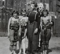 Circus folk 1930s