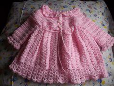 vestiditos tejidos a crochet para bebe - Pesquisa Google