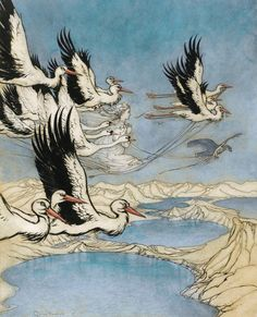 """Earl Mar's Daughter"" - Arthur Rackham - Old Books And Illustrations"