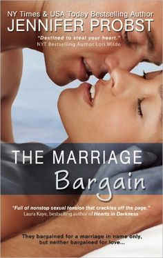 The Marriage Bargain: Cute Story. Quick Read. Definitely a lifetime movie waiting to happen. Perfect sort of book for a beach day!