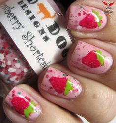 The Nail Junkie: SWATCHFEST: Red Dog Designs Berry Friends Collection