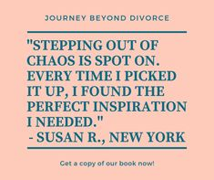 Our ebook, Stepping out of Chaos, shows you concrete steps to reclaim your life and navigate divorce with greater ease How Divorce Affects Children, Coping With Divorce, Feeling Lonely, Dating After Divorce, Single Parenting, Grief, Stress, Calm, Community